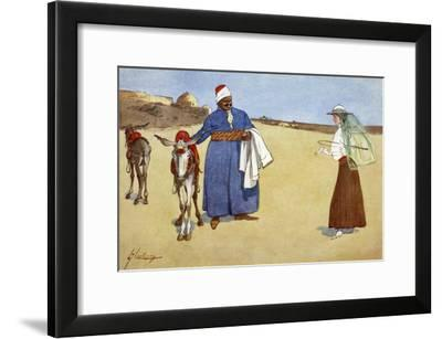 Beauty and the Beasts', 1908-Lance Thackeray-Framed Giclee Print