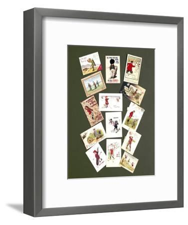 Greetings cards, c1905-c1920-Unknown-Framed Giclee Print