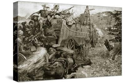 The Matabele War, 1893 (1901)-Unknown-Stretched Canvas Print