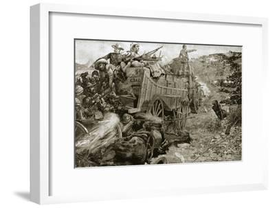 The Matabele War, 1893 (1901)-Unknown-Framed Giclee Print
