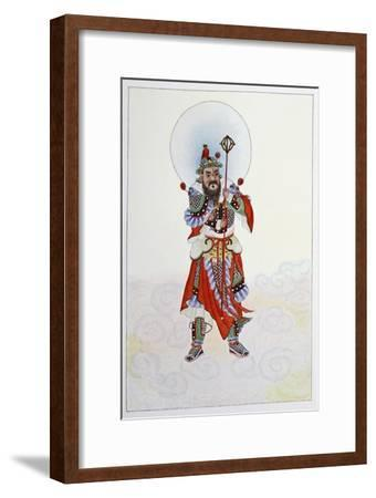 The Door God - Military, 1922-Unknown-Framed Giclee Print