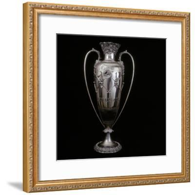 Lenox Cup golf trophy, c1890s-Unknown-Framed Giclee Print