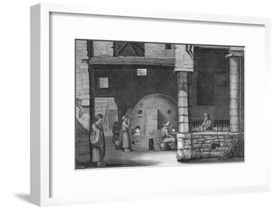 'The Glass Bottle Maker', 1922-Unknown-Framed Giclee Print