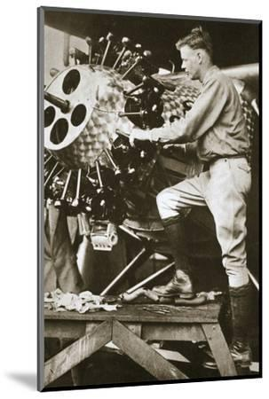 'The Hero of the Decade', 1927-Unknown-Mounted Photographic Print