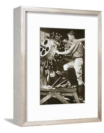 'The Hero of the Decade', 1927-Unknown-Framed Photographic Print