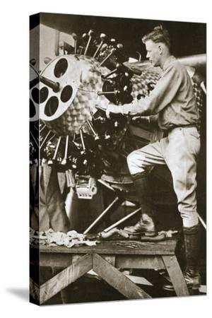 'The Hero of the Decade', 1927-Unknown-Stretched Canvas Print