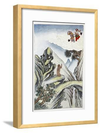 'The Birth of the Monkey', 1922-Unknown-Framed Giclee Print