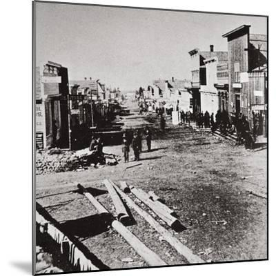 Leadville, Colorado, USA, 1870s-Unknown-Mounted Photographic Print