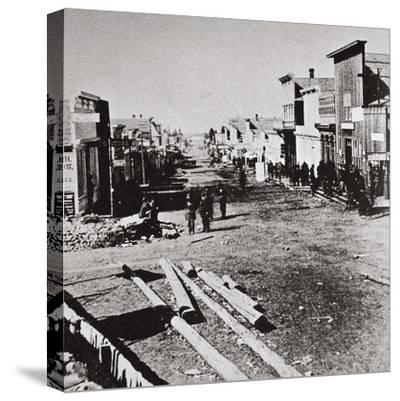 Leadville, Colorado, USA, 1870s-Unknown-Stretched Canvas Print