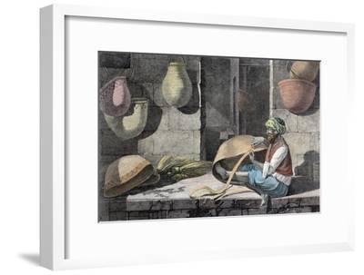 'The Basket Maker', c1798 (1822)-Unknown-Framed Giclee Print