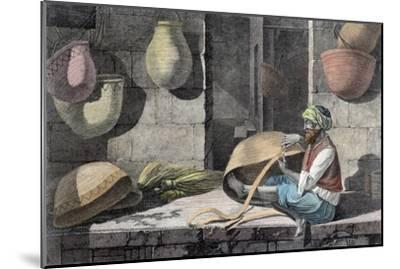 'The Basket Maker', c1798 (1822)-Unknown-Mounted Giclee Print
