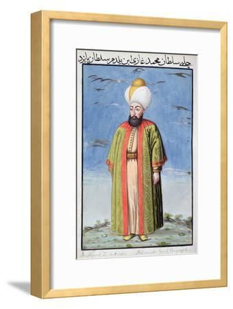 Mehmed I, Ottoman Emperor, (1808)-Unknown-Framed Giclee Print