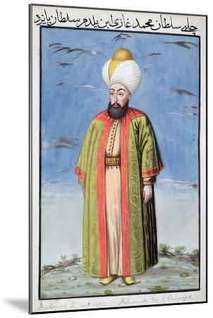 Mehmed I, Ottoman Emperor, (1808)-Unknown-Mounted Giclee Print