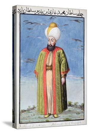 Mehmed I, Ottoman Emperor, (1808)-Unknown-Stretched Canvas Print