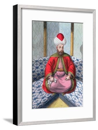 Orhan I, Ottoman Emperor, (1808)-Unknown-Framed Giclee Print
