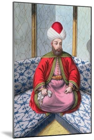 Orhan I, Ottoman Emperor, (1808)-Unknown-Mounted Giclee Print