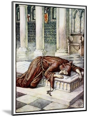 'The Death of Sir Lancelot', 1911-Unknown-Mounted Giclee Print