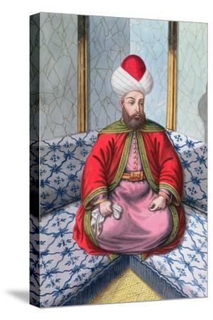 Orhan I, Ottoman Emperor, (1808)-Unknown-Stretched Canvas Print