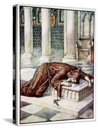'The Death of Sir Lancelot', 1911-Unknown-Stretched Canvas Print