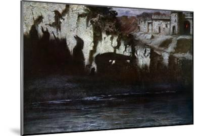 'The Funeral of Siegfried', 1906-Unknown-Mounted Giclee Print
