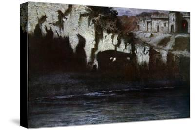 'The Funeral of Siegfried', 1906-Unknown-Stretched Canvas Print