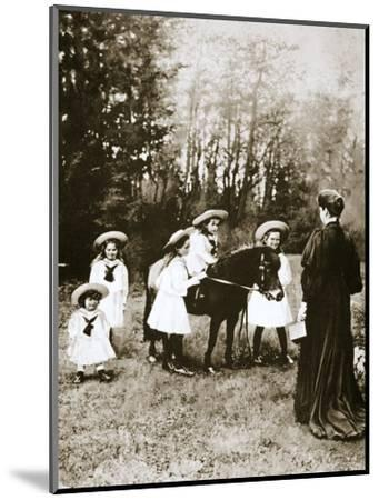 The Russian Imperial family, 1900s-Unknown-Mounted Photographic Print