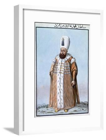 Mehmed III, Ottoman Emperor, (1808)-Unknown-Framed Giclee Print