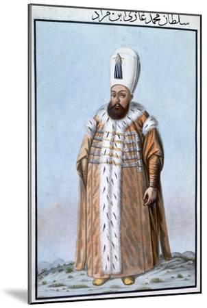 Mehmed III, Ottoman Emperor, (1808)-Unknown-Mounted Giclee Print