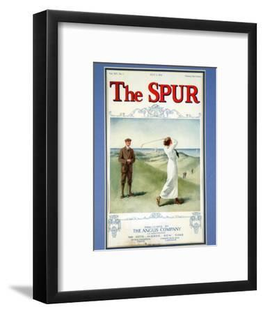 The Spur magazine cover, July 1914-Unknown-Framed Giclee Print