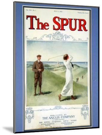 The Spur magazine cover, July 1914-Unknown-Mounted Giclee Print