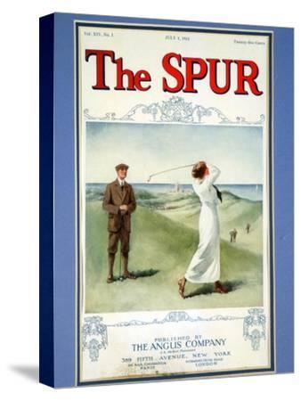 The Spur magazine cover, July 1914-Unknown-Stretched Canvas Print