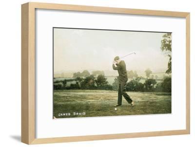James Braid, Scottish golfer, c1910-Unknown-Framed Giclee Print