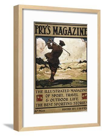 Cover of Fry's Magazine, c1904-c1914-Unknown-Framed Giclee Print