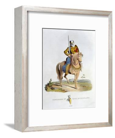 Alexander II, King of Scotland, (1824)-Unknown-Framed Giclee Print