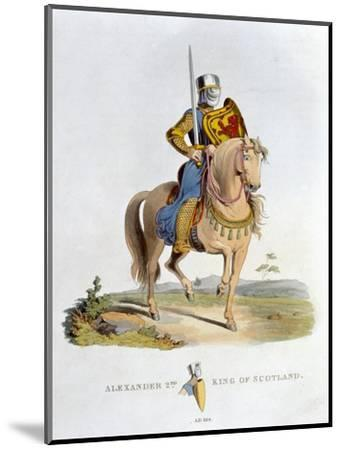 Alexander II, King of Scotland, (1824)-Unknown-Mounted Giclee Print
