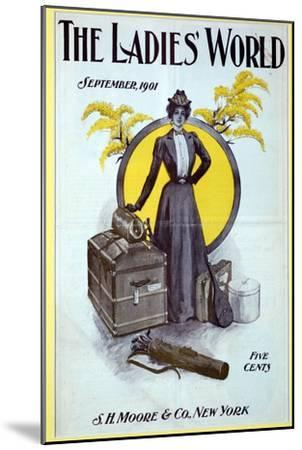 The Ladies World, magazine cover, 1901-Unknown-Mounted Giclee Print