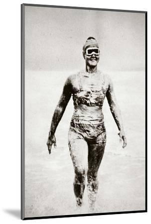Gertrude Ederle, American swimmer, 1926-Unknown-Mounted Photographic Print