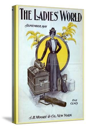The Ladies World, magazine cover, 1901-Unknown-Stretched Canvas Print