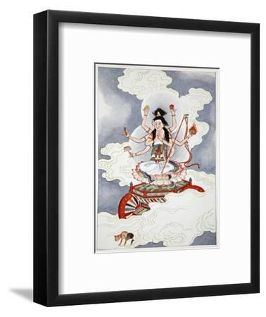 Tou Mu, Goddess of the North Star, 1922-Unknown-Framed Giclee Print