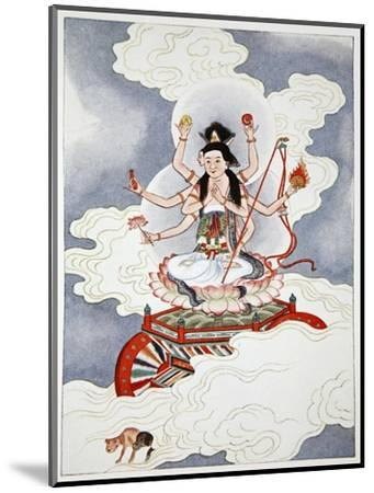 Tou Mu, Goddess of the North Star, 1922-Unknown-Mounted Giclee Print