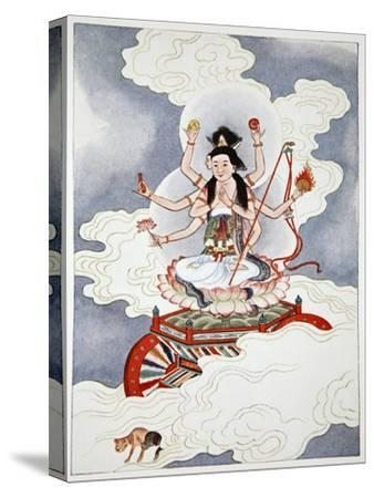 Tou Mu, Goddess of the North Star, 1922-Unknown-Stretched Canvas Print
