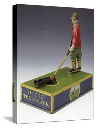 Jocko the Golfer, toy, American, c1920-Unknown-Stretched Canvas Print