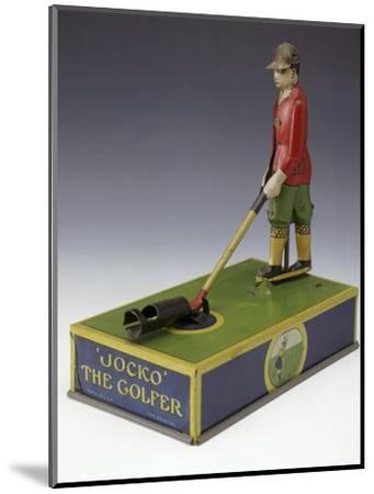 Jocko the Golfer, toy, American, c1920-Unknown-Mounted Giclee Print