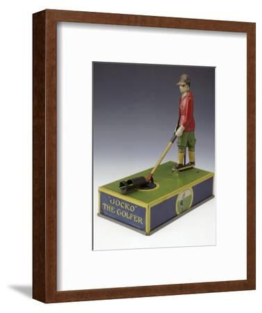 Jocko the Golfer, toy, American, c1920-Unknown-Framed Giclee Print