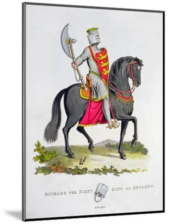 Richard I, King of England, 1194 (1824)-Unknown-Mounted Giclee Print