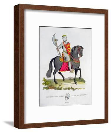 Richard I, King of England, 1194 (1824)-Unknown-Framed Giclee Print