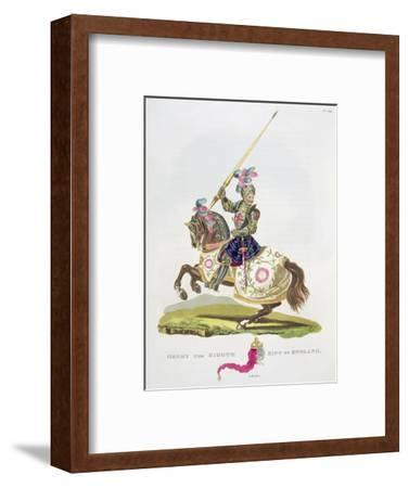 Henry VIII, King of England, 1525 (1824)-Unknown-Framed Giclee Print