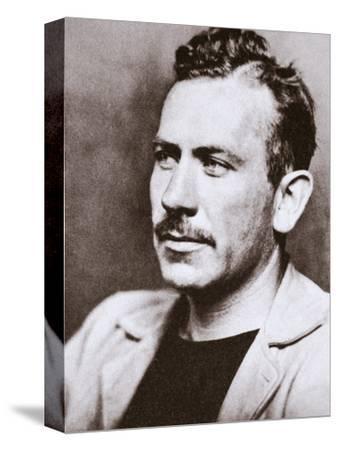 John Steinbeck, American novelist, c1939-Unknown-Stretched Canvas Print