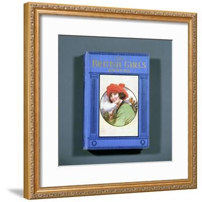 Cover of The British Girl's Annual, 1923-Unknown-Framed Giclee Print