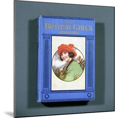 Cover of The British Girl's Annual, 1923-Unknown-Mounted Giclee Print
